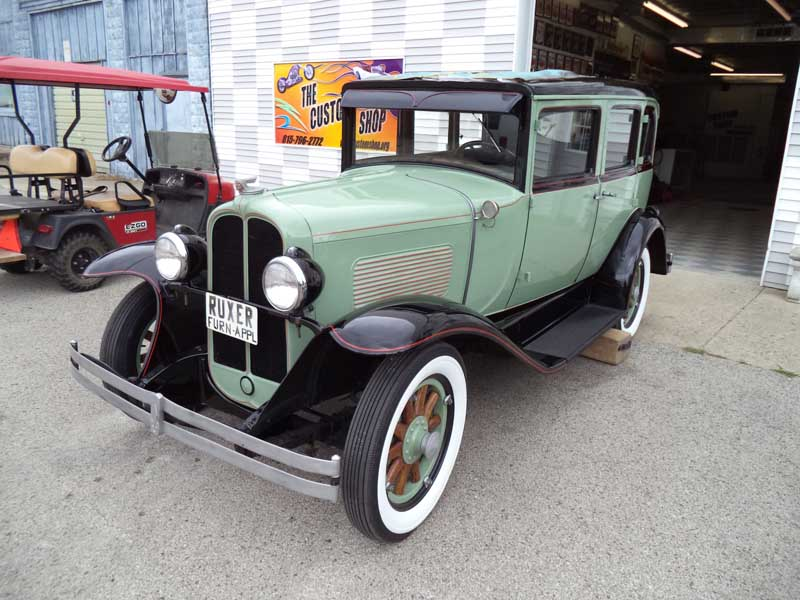 Parked for 60 Years: 1929 Pontiac Big Six