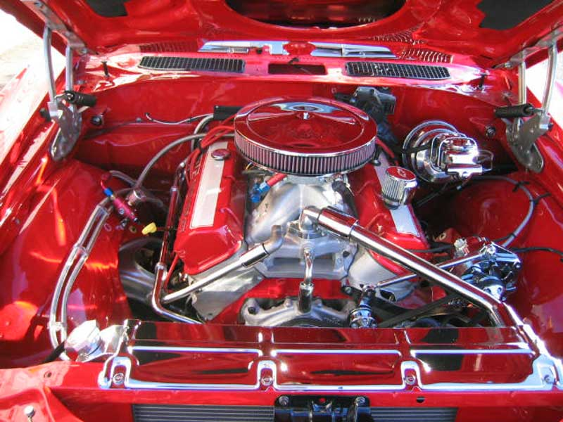 Tom's Red Chevelle