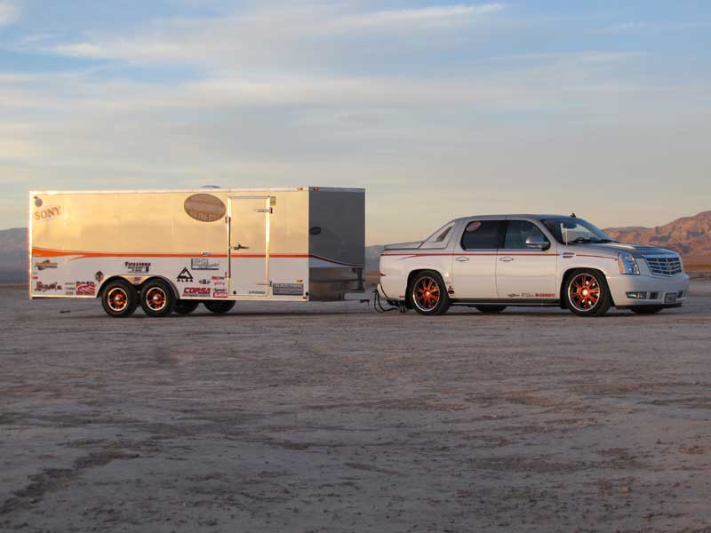 Escalade & Trailer