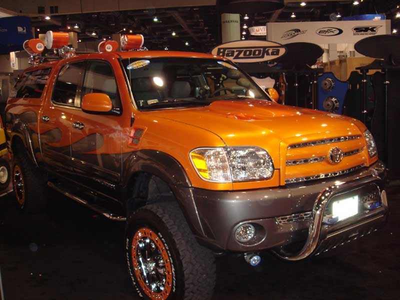Sema 2006 Tundra Double Boosted Main Page